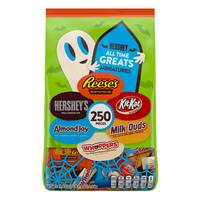 Hershey's 250-Piece All Time Great Miniatures Bag from Blain's Farm and Fleet