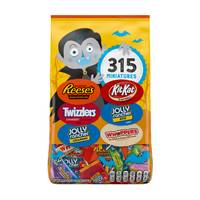 Hershey's 315-Piece Chocolate and Sweets Miniatures Bag from Blain's Farm and Fleet