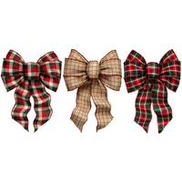 Holiday Trims Fancy Bow Assortment from Blain's Farm and Fleet