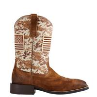 ARIAT Men's Sport Patriot Brown from Blain's Farm and Fleet
