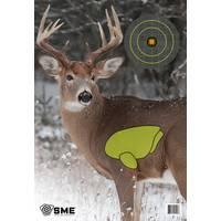 SME 3-Pack Vital Deer Target from Blain's Farm and Fleet