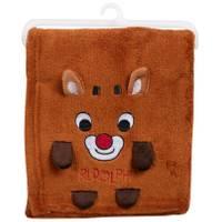 HJ Rashti Rudolph Folded Kids' Blanket from Blain's Farm and Fleet