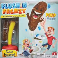 Mattel Flushin' Frenzy Game from Blain's Farm and Fleet