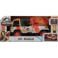 Mattel Matchbox Jurassic World 1:18 Jeep Wrangler from Blain's Farm and Fleet