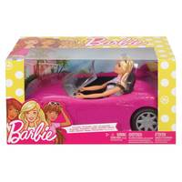 Mattel Barbie Doll and Convertible from Blain's Farm and Fleet