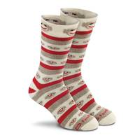 Fox River Women's Monkey Stripe Crew Socks from Blain's Farm and Fleet
