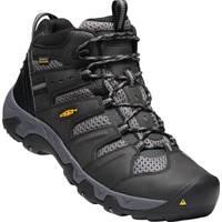 KEEN Men's Koven Mid Waterproof Hiker Boots Black from Blain's Farm and Fleet