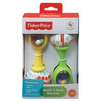 Fisher-Price Rattle N' Rock Maracas from Blain's Farm and Fleet