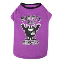 Mission Pets Purple Mommy's Little Monster Pet T-Shirt from Blain's Farm and Fleet
