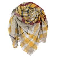 Quagga Accessories Women's Blanket Wrap Boucle Gold Scarf from Blain's Farm and Fleet