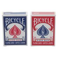 Bicycle Mini Red & Blue Playing Cards Assortment from Blain's Farm and Fleet
