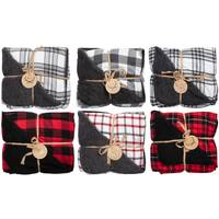 Northpoint Trading Artemis Vintage Berber Plaid Throw Assortment from Blain's Farm and Fleet