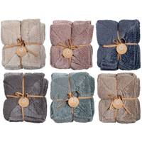 Northpoint Trading Ephiphany Weave Berber Cable  Throw Assortment from Blain's Farm and Fleet