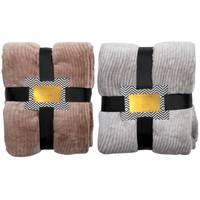 Silver One Faux Fur Animal Skin Printed Throw Assortment from Blain's Farm and Fleet
