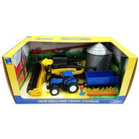 New Ray New Holland CR9090 Combine Playset from Blain's Farm and Fleet