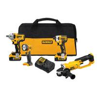 DEWALT 20V Max 4 Tool Farm Combo Kit from Blain's Farm and Fleet