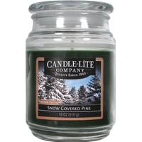 Candle-Lite 18 oz Snow Covered Pine Jar Candle from Blain's Farm and Fleet