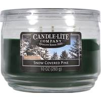 Candle-Lite 10 oz 3 Wick Snow Covered Pine Jar Candle from Blain's Farm and Fleet