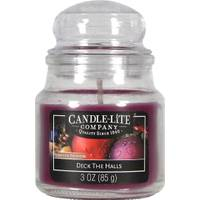 Candle-Lite 3 oz Deck the Halls Jar Candle from Blain's Farm and Fleet