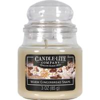 Candle-Lite 3 oz Gingerbread Snaps Jar Candle from Blain's Farm and Fleet