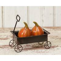 Your Hearts Delight by Audrey Ceramic Pumpkin Salt & Pepper Shakers from Blain's Farm and Fleet