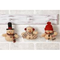 Your Hearts Delight by Audrey Mini Snowman Ornament Assortment from Blain's Farm and Fleet