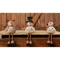 Your Hearts Delight by Audrey Snowman with Button Legs Assortment from Blain's Farm and Fleet