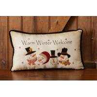 Your Hearts Delight by Audrey Warm Winter Welcome Pillow from Blain's Farm and Fleet