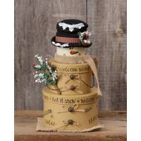Your Hearts Delight by Audrey Welcome Winter Nesting Boxes Set of 3 from Blain's Farm and Fleet
