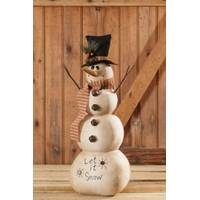 Your Hearts Delight by Audrey Snowman Let It Snow Table Decoration from Blain's Farm and Fleet