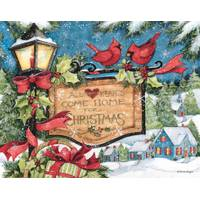 Lang 18-Count  Hearts Come Home Christmas Cards from Blain's Farm and Fleet