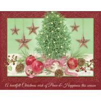 Lang 18-Count  Rosemary Tree Holiday Cards from Blain's Farm and Fleet