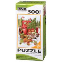 Lang 300-Piece Santa's Truck Puzzle from Blain's Farm and Fleet