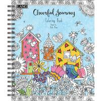 Lang Cheerful Journey Coloring Book from Blain's Farm and Fleet