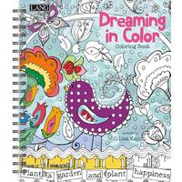 Lang Dreaming in Color Coloring Book from Blain's Farm and Fleet