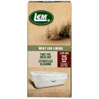 LEM 25-Count Plastic Meat Lug Liners from Blain's Farm and Fleet