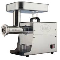 LEM Big Bite Grinder #8 0.5 HP Stainless Steel Electric Meat Grinder from Blain's Farm and Fleet