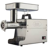 LEM Big Bite Grinder #12 0.75 HP Stainless Steel Electric Meat Grinder from Blain's Farm and Fleet