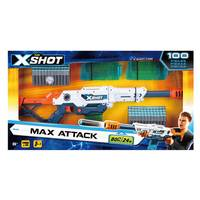 X-Shot 100-Piece Max Attack Clip Blaster from Blain's Farm and Fleet