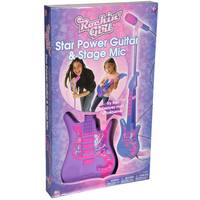 Rockin' Girl Star Power Guitar & Stage Mic from Blain's Farm and Fleet