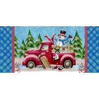 LPG Greetings 14-Count Winter Truck Long Holiday Cards from Blain's Farm and Fleet