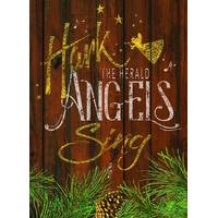 LPG Greetings 14-Count Hark the Herald Angels Foil Cards from Blain's Farm and Fleet