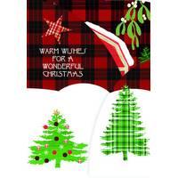 LPG Greetings 12-Count Festive Farmhouse Trifold Cards from Blain's Farm and Fleet