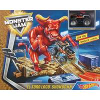 Monster Jam El Toro Loco Play Set from Blain's Farm and Fleet