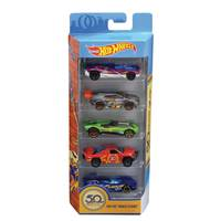 Hot Wheels 5-Pack Assorted 50th Anniversary Cars from Blain's Farm and Fleet