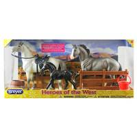 Reeves International Breyer Classics Heroes of the West from Blain's Farm and Fleet