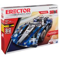 Meccano 25 Model Building Set SuperCar from Blain's Farm and Fleet
