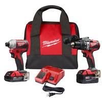 Milwaukee M18 Brushless Drill/Impact Combo Kit from Blain's Farm and Fleet
