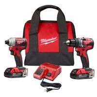 Milwaukee M18 Compact BL Drill Driver/Impact Combo from Blain's Farm and Fleet