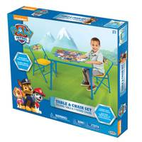 Jakks Pacific Paw Patrol Activity Table & Chairs from Blain's Farm and Fleet